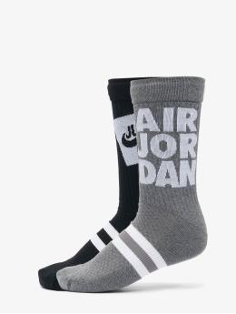 Jordan Socken U J Legacy Crew 2pr - Sp21 Jmc  schwarz