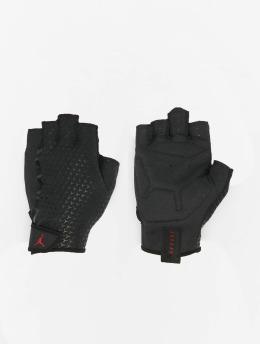 Jordan Sporthandschuhe Training schwarz