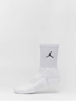 Jordan Sportssokker Flight  hvit
