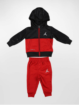 Jordan Suits Vertical AOP Therma  red
