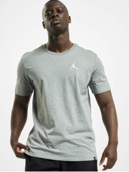 Jordan T-paidat Sportswear Jumpman Air Embroidered T-Shirt harmaa