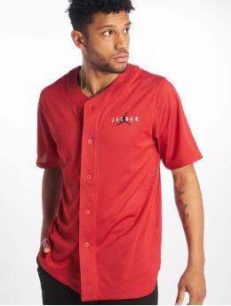 Jordan T-paidat Jumpman Air Mesh Jersey Gym punainen