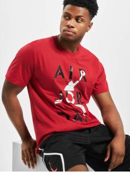 Jordan T-paidat Stencil SS Crew punainen