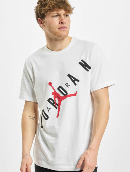 Jordan T-paidat HBR Stretch Crew valkoinen