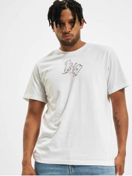 Jordan T-shirt M J Brand Jumpman 23 Air SS bianco