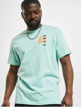 Jordan T-Shirt M J JAir Futura SS Crew blue