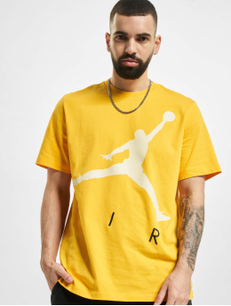 Jordan T-Shirt Jumpman Air HBR goldfarben
