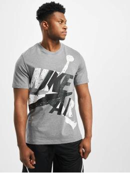 Jordan T-Shirt Jumpman Classics HBR Crew grau