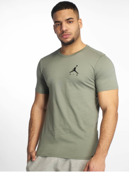 Jordan T-Shirt Jumpman Air Embroidered green
