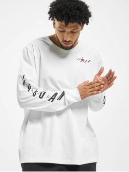 Jordan T-Shirt manches longues Swerve blanc