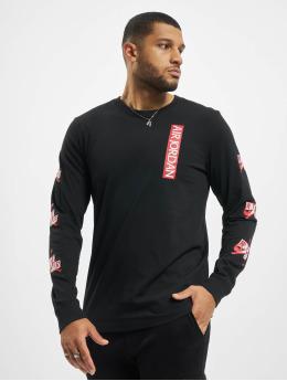 Jordan T-Shirt manches longues Jumpman Classics Crew noir
