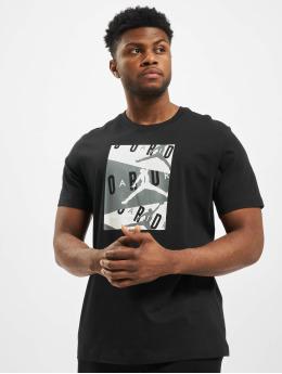 Jordan T-shirt Air SS Crew nero