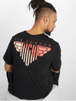 Jordan T-Shirt Wings Flight noir