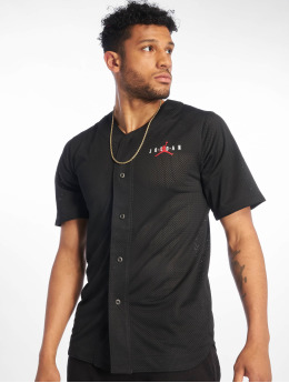 Jordan T-Shirt Jumpman Air Mesh Jersey Gym noir