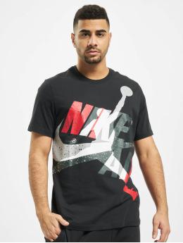 Jordan T-Shirt Jumpman Classics HBR Crew noir