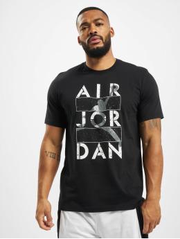 Jordan T-Shirt Stencil SS Crew noir