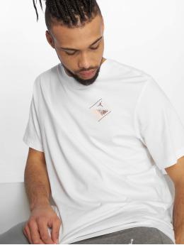 Jordan Männer T-Shirt Wings Flight Logo in weiß