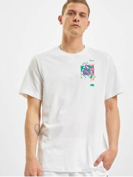Jordan T-Shirt M J JAir Futura SS Crew weiß