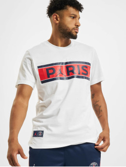 Jordan t-shirt PSG wit
