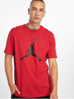 Jordan T-Shirty Jumpman SS Crew czerwony