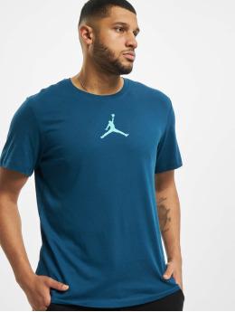 Jordan T-skjorter Jumpman Defect Crew blå