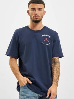 Jordan T-skjorter PSG blå