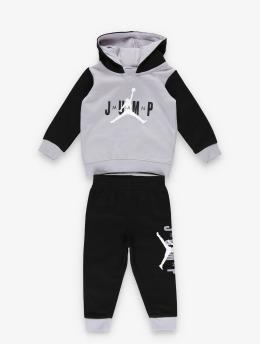 Jordan Tuta Jumpman Sideline Pullover & Jogger nero