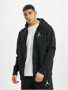 Jordan Zip Hoodie Jumpman Air Fleece Full Zip черный