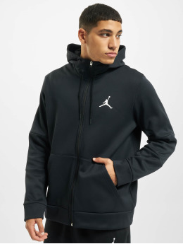 Jordan Zip Hoodie Air Therma Fleece Full Zip czarny