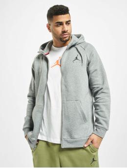 Jordan Zip Hoodie Jumpman Fleece Full Zip  gray