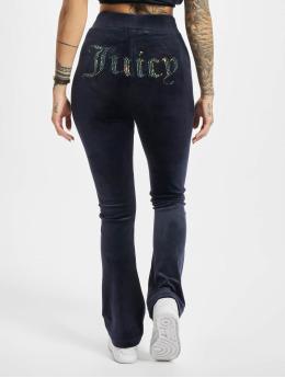 Juicy Couture Spodnie do joggingu Freya Flares niebieski