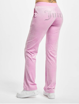 Juicy Couture Spodnie do joggingu Delray Diamante  pink