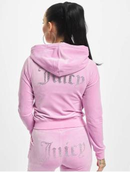 Juicy Couture Zip Hoodie Robertson Diama  pink