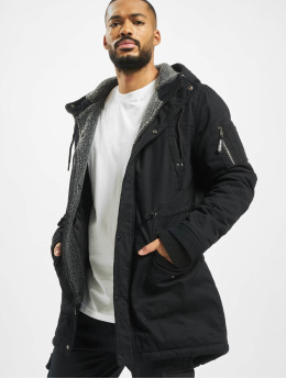 Just Rhyse Зимняя куртка Columbus  черный