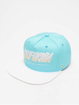 Just Rhyse 5 Panel Caps Santa Monica niebieski