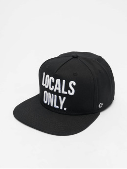 Just Rhyse Beverly Hills 5 Panel Cap Black