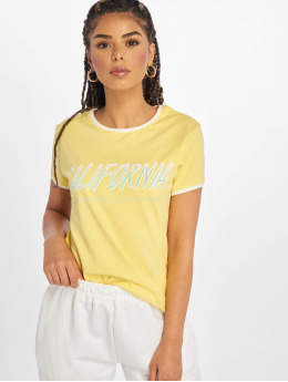 Just Rhyse Camiseta Santa Monica amarillo