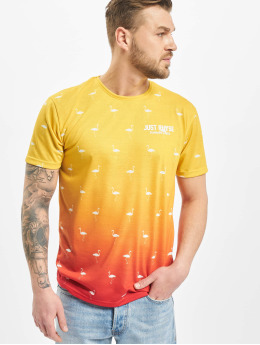 Just Rhyse Camiseta Bellview  amarillo