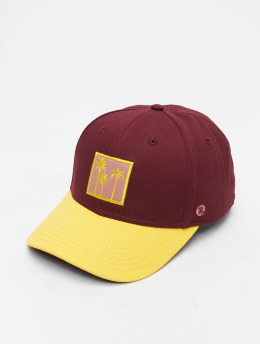 Just Rhyse Casquette Fitted Orlando rouge