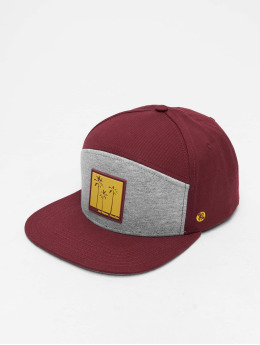 Just Rhyse Casquette Fitted Fort Pierce 6 rouge