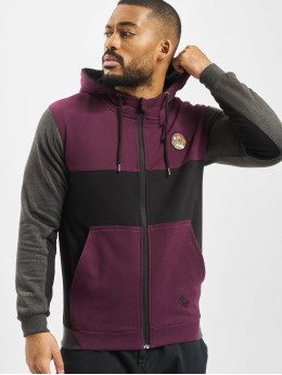 Just Rhyse Hoodies con zip Power  rosso