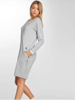 Just Rhyse jurk Santadi grijs