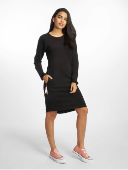 Just Rhyse jurk Santadi zwart