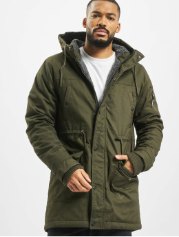 Just Rhyse Manteau hiver Columbus  olive