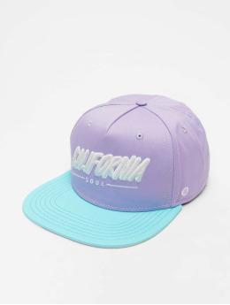 Just Rhyse Snapback Caps Santa Monica fioletowy