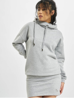 Just Rhyse Sukienki Cross Lake Hoody  szary