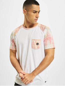 Just Rhyse T-Shirt Pocosol Raglan blanc