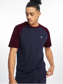 Just Rhyse Monchique T-Shirt Navy/Burgundy