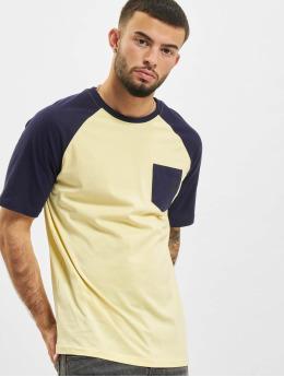 Just Rhyse T-Shirt Albertina Raglan gelb