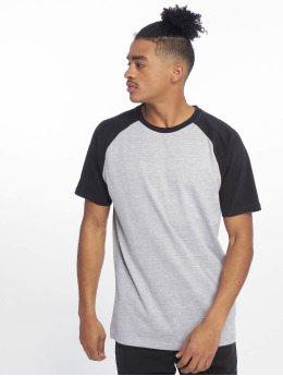 Just Rhyse Monchique T-Shirt Grey Melange/Black